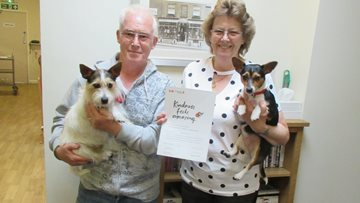 Harley Grange gives regular visitors a Kindness in Care Award